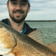 Mike Leonard with Louisiana Redfish