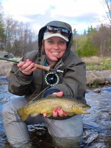 Fly Fishing International Certified instructor Joannie De Lasablonniere