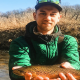Taylor Ridderbusch holding a rainbow trout1