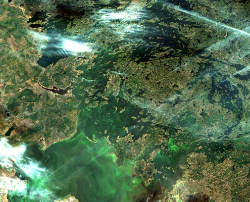 Photo of Lake of the Woods Sentinel Satellite with Kenora